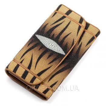 Женский кошелек из кожи морского ската (18087)