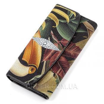 Женский кошелек из кожи морского ската (18108)