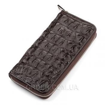 Кошелек-клатч из кожи крокодила (18011)
